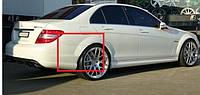 Накладки на задние арки тюнинг Mercedes Benz W204 стиль AMG