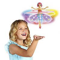Flutterbye Fairy Rainbow Летающая фея радуга со светящейся юбкой оригинал Spin Master