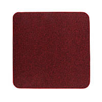 Электрический коврик с подогревом Теплик двусторонний 50 х 50 см Темно-красный, КОД: 108589