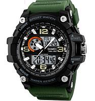 Мужские часы Skmei 1291 Зеленые