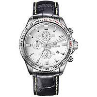 Часы Megir Silver White Black MG3001 (ML3001GBK-7)