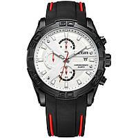 Часы Megir Black White Black MG2055 (MN2055G-BK-7)