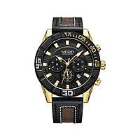 Часы Megir Gold Black MG2066 (ML2066GGD-BK-1N3)