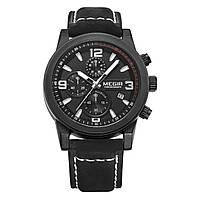 Часы Megir Black MG2026 (ML2026G/BK-1)