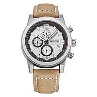 Часы Megir Silver Brown MG2026 (ML2026GBN-7N1)