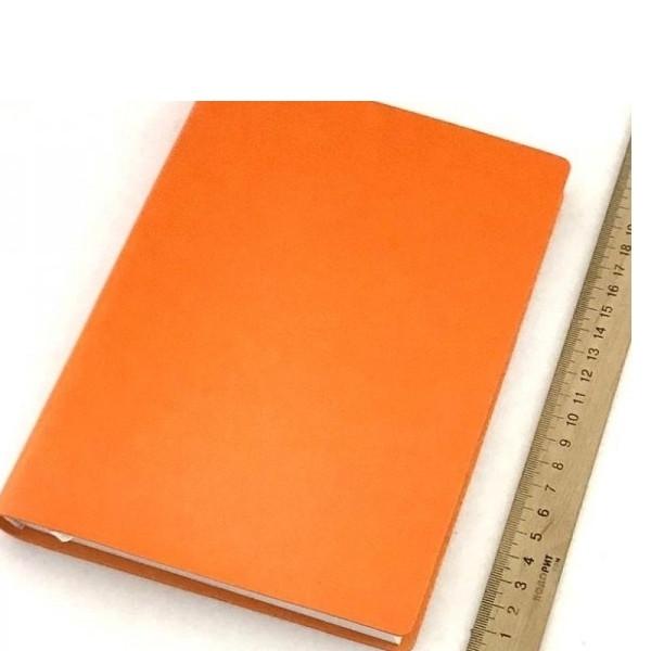Ежедневник ЗВ-435 Frankfurt БРИСК оранжевый интегр.обл. 176л. 142*203