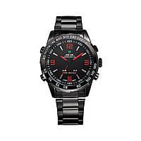 Часы Weide Red WH1009B-2C SS (WH1009B-2C)