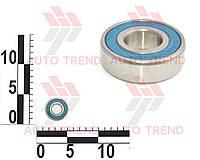 Подшипник привода электродвигателя вентилятора ВАЗ 2103-15, генератор ВАЗ 2110, ГАЗель перв. вал пер. опора (коленвал) (180203) | 180203AC17(6203-2RS)