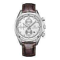 Часы Megir Silver Silver Brown MG5005 (ML5005GBN-7)