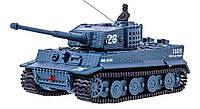 Танк микро р/у 1:72 Tiger со звуком Серый (TSH2711483694751)