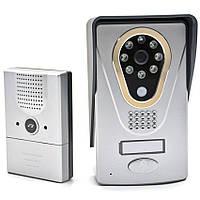 IP WiFi видеодомофон c записью и управлением со смартфона KIVOS KDB400, КОД: 147008