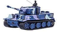 Танк микро на р/у 1:72 Tiger со звуком Синий (TSH2711659228926)