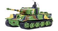 Танк микро на радиоуправлении 1:72 Tiger со звуком Зеленый (TSH2711633264261)