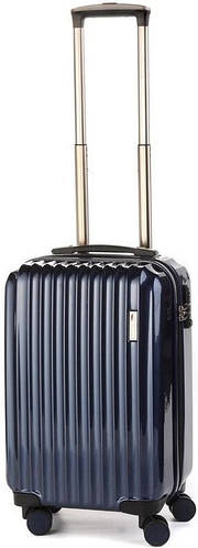 Оригинальный чемодан малый на 4-х колесах 35 л. Sumdex (Самдекс) SWR-723NB синий