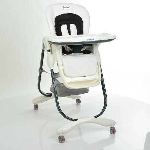 Стульчик для кормления DOLCE M 3236-10 белый ***