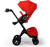 Универсальная коляска 2 в 1 DsLand V6 Красная