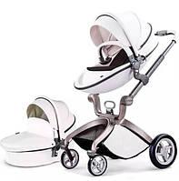 Универсальная коляска 2 в 1 Hot Mom Белая (hub_gsnp43973)