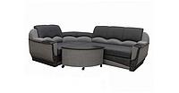 Угловой диван Garniturplus Мадрид серый 250 см, КОД: 181575