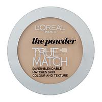 Пудра для лица компактная - L'Oreal Paris True Match Super Blendable Powder