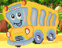 Схема для вышивки бисером  Автобус  РКП-5-034