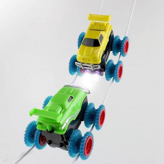 Канатный конструктор Trix Trux. 2 Машинки. Оригинал
