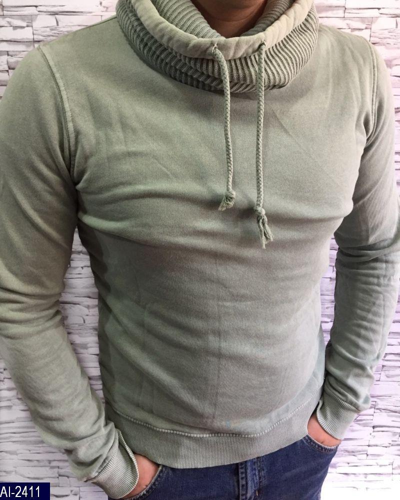 Толстовка утепленная с хомутом Модель 0122 Ткань 100% коттон Размер: M,S,L,XL