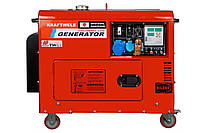 Дизельний генератор Kraftwele SDG9800S 1F