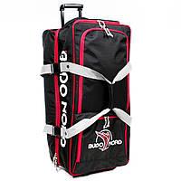 Cумка дорожная Budo-Nord Suitcase Rolling Rascal Bag Red   Black (BB1001) 8a5c92269d3