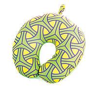 Подушка Spokey SKYWAY для путешествий Желто-зеленая
