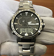 Часы Casio PRW-60Т-7AER PROTREK Triple Sensor Titanium, фото 1