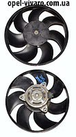 Вентилятор осн радиатора D295 7 лопастей 2 пина FWD Opel Movano 2010-2018