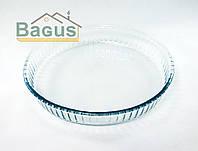 Блюдо для выпечки жаропрочное круглое 3 л Borcam (59014)