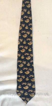 Прикольный галстук Мышка с сыром