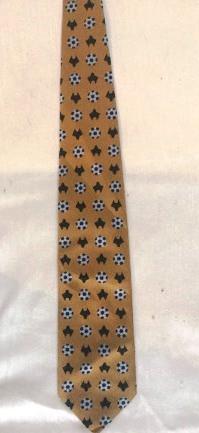Прикольный галстук Футбол