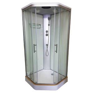 Італійський душовий бокс 90х90х215 VERONIS з кришою