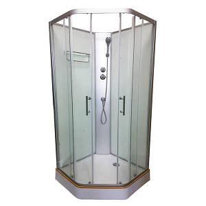 Італійський душовий бокс 90х90х215 VERONIS без криші