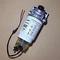 Фильтр топливный с основанием PL-270 (сепаратор) с подогревом КрАЗ, МАЗ, КАМАЗ