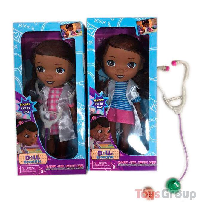 Кукла Доктор Плюшева 9192 А (60) 2 вида, 1шт в коробке