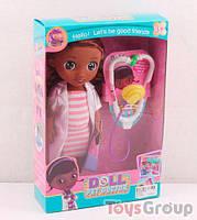 Кукла Доктор Плюшева BY 009 A (72) в коробке