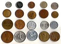 Набор монет МИРА разных стран - 20 монет №7