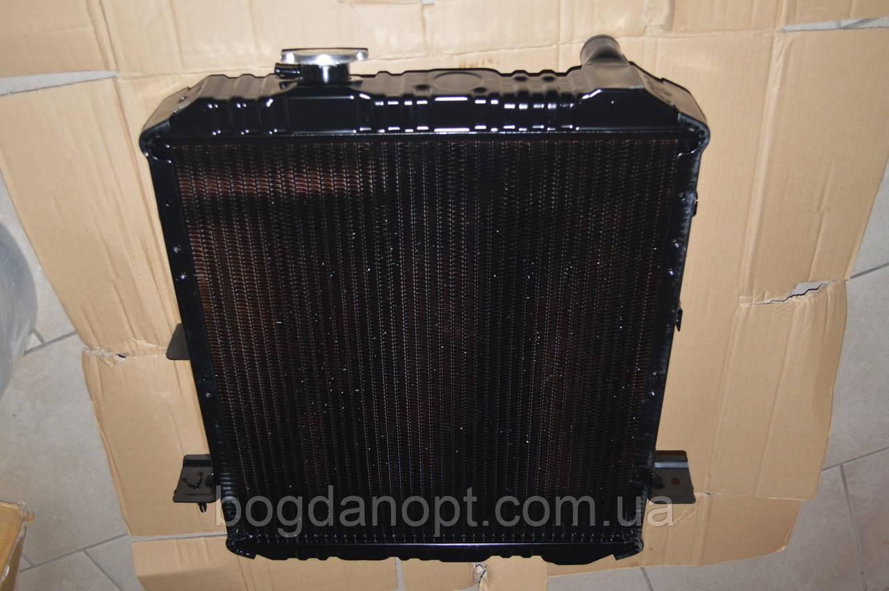 Радиатор Богдан А-091,А-092, Исузу Е-1 медно-латунный