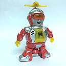 Робот с пропеллером танцор,свет, звук (Синий), фото 5