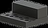 Шасси для лампового усилителя, МОДЕЛЬ MB-6P3C(S)ACU-W400H66L344, RAL9005(BLACK TEXTURED)