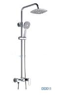 GLOBUS LUX DS0011 (Prizma Shower)  Душевая система (См-ль+Штанга+Шланг+Лейка+Лейка Тропик)