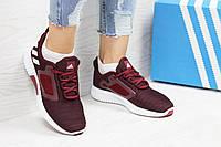 c651eae5efb8 Женские кроссовки в стиле Adidas Climacool W. Бордовые. Код товара  Д - 5332