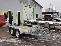 Прицеп для перевозки тротуарного катка 2,5м х 1,4м., фото 1
