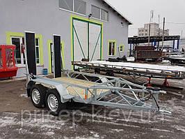 Прицеп для перевозки тротуарного катка 2,5м х 1,4м.