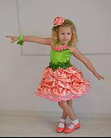 Детский карнавальный костюм для девочки Розочка 104-158р
