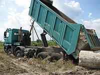 Вывоз грунта, глины, суглинка, супеси, фото 1