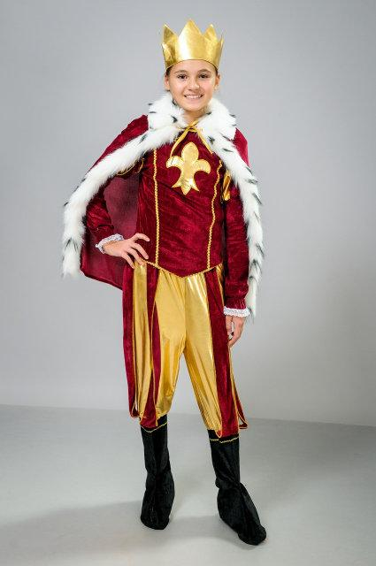 Новогодний костюм для мальчика Король р. 32, 34, 36, 38
